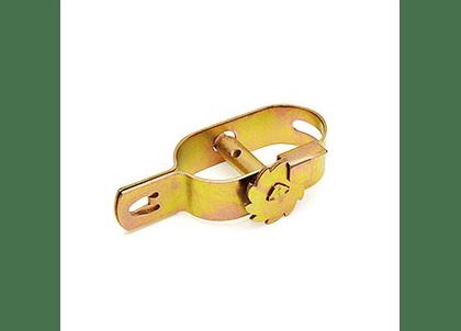 Draadspanner geel gepassiveerd met kantwiel