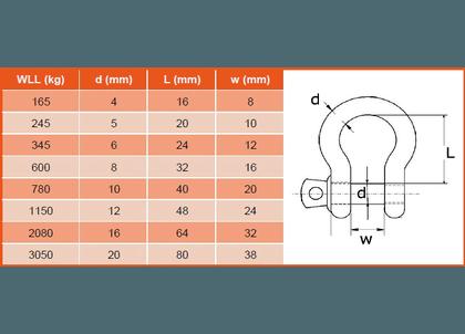 Harpsluiting RVS handelsuitvoering-2